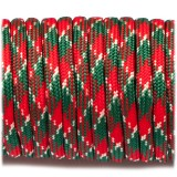 Paracord Type III 550, red green camo #042