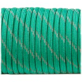 Paracord reflective, emerald green #r3086