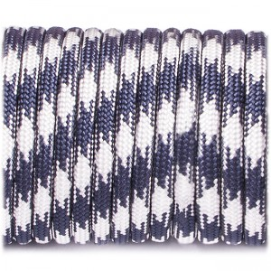 Paracord Type III 550, navy white #199
