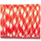 Paracord Type III 550, orange white camo #046