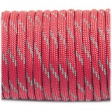Paracord reflective, crimson #r3324