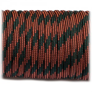 Paracord Type III 550, red camo #006