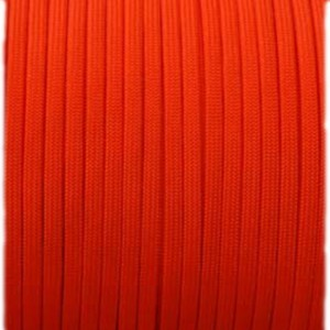 Minicord (2.2 mm), fluo orange red #009-2