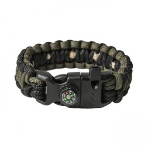 "Браслет ""Кобра"" Survival, Black and Army green (S)"